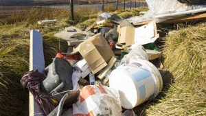 pile of waste colson skips