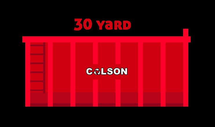 colson 30 yard skip