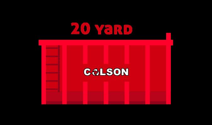 colson skips 20 yard skip