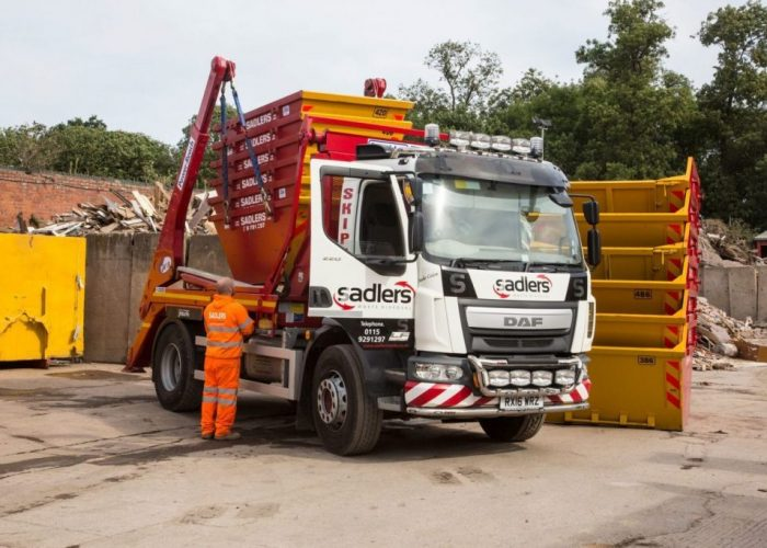 skip hire in hucknall